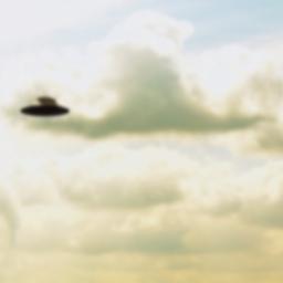 La falsa vera foto dell'UFO