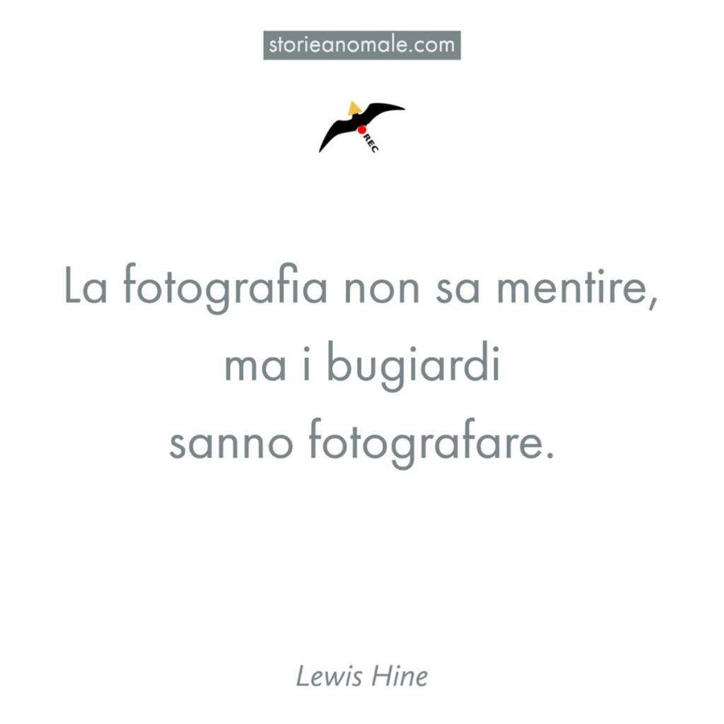 La fotografia e i bugiardi