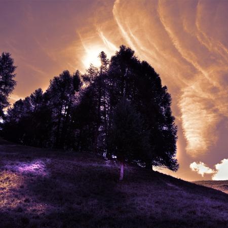 Non tramonto a Livigno
